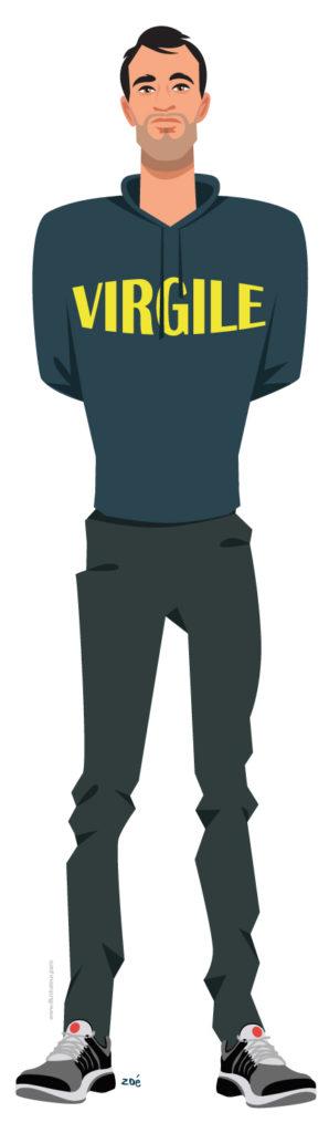 illustration Virgile