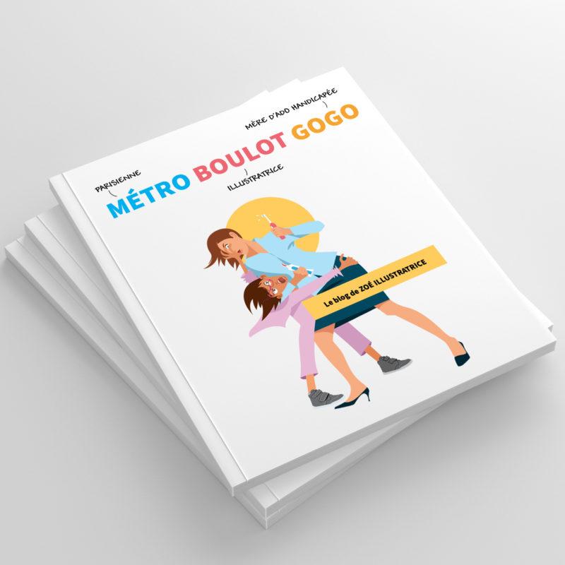 couverture du livre métro boulot gogo