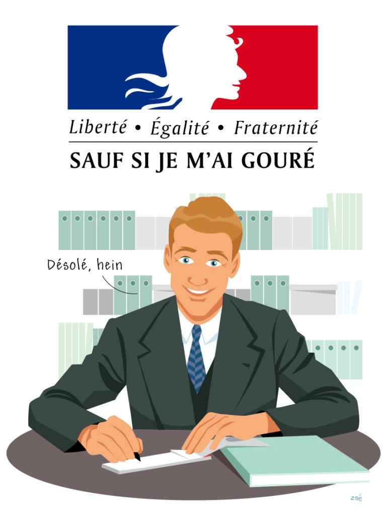 illustration impôts