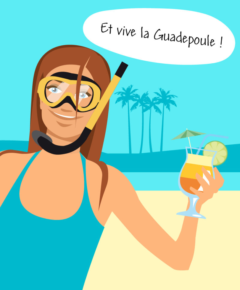 illustration Guadeloupe