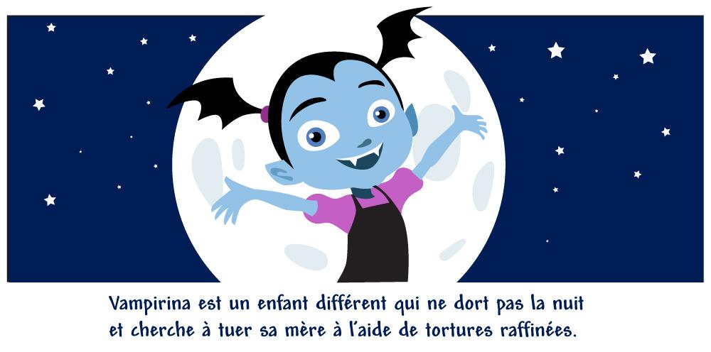 illustration vampirina