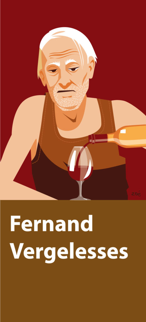 illustration vins grands crus Pernand Vergelesses
