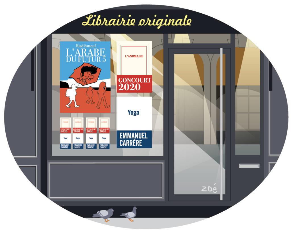 illustration librairie