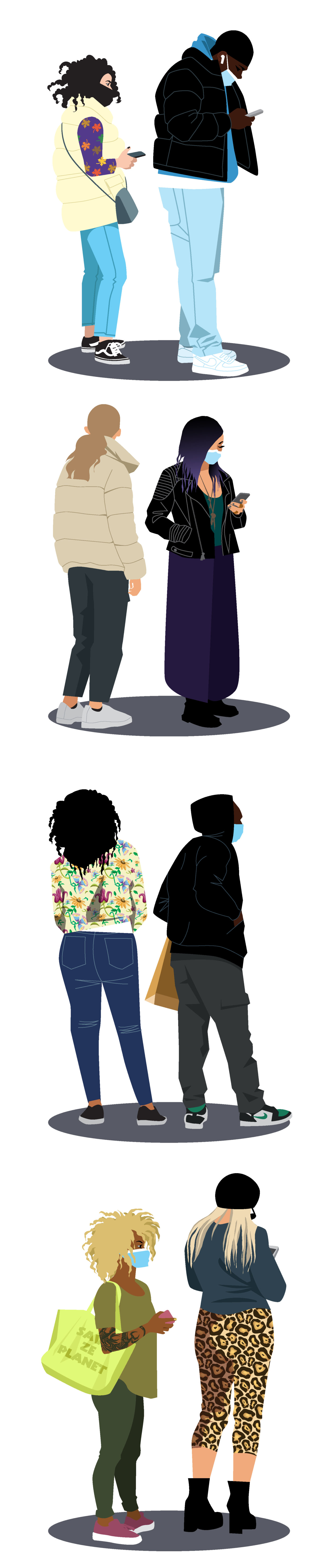 illustration mangez et cassez-vous Zoé illustratrice