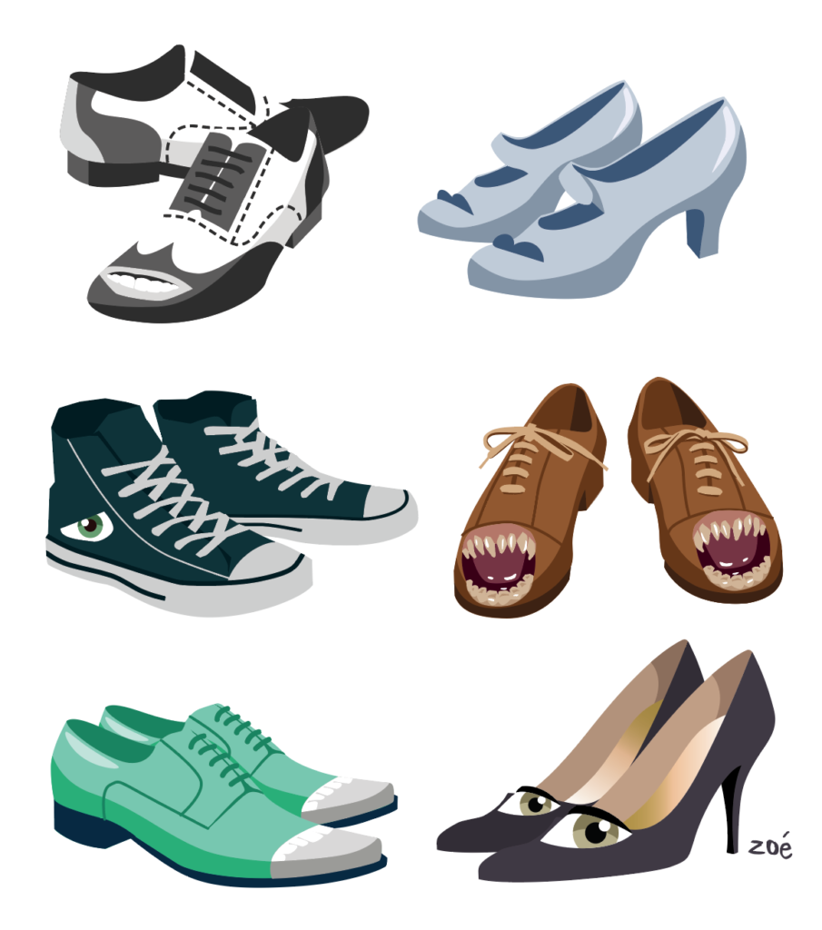 illustration chaussures